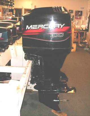 REBUILT RE-MAN 100hp Mercury, Remanufactured & Reconditioned