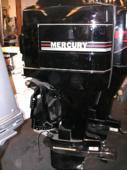 on Mercury Outboard Cover
