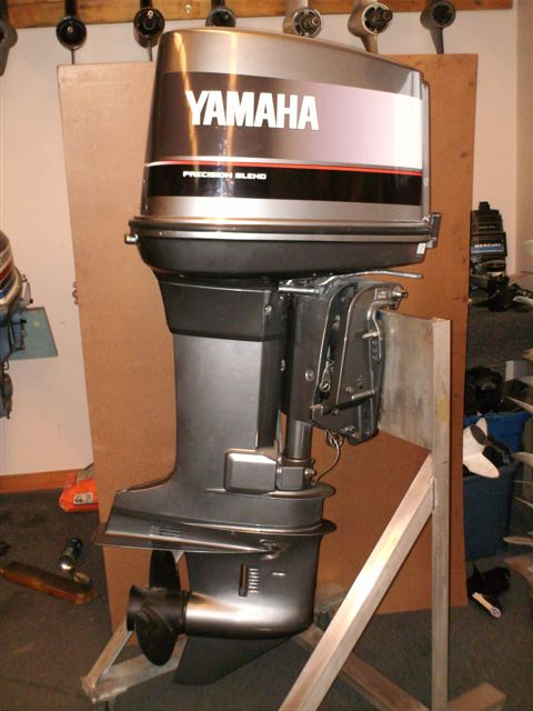 Rebuilt re man 150 hp yamaha 1984 1995 remanufactured for Yamaha 90 outboard weight