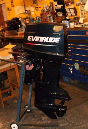 REBUILT RE-MAN 60hp Evinrude, Remanufactured & Reconditioned