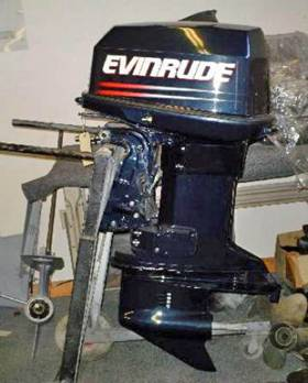 REBUILT RE-MAN 115hp Evinrude, Remanufactured